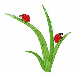 Lady Bugs embroidery design