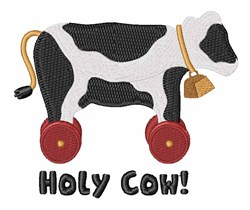 Holy Cow embroidery design