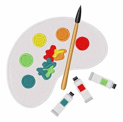 Paint Colors embroidery design