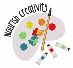 Nourish Creativity embroidery design