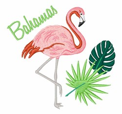 Bahamas embroidery design