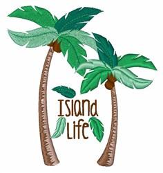 Island Life embroidery design