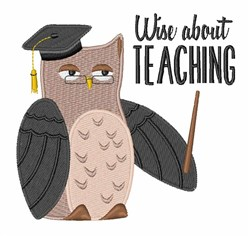 Wise Teaching embroidery design