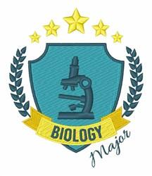 Biology Major embroidery design
