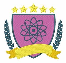 Physics Logo embroidery design