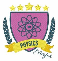 Physics Major embroidery design