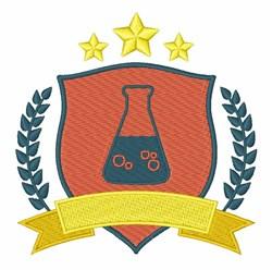 Chemistry Logo embroidery design