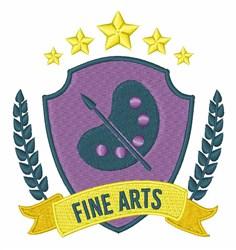 Fine Arts embroidery design