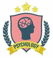 Psychology embroidery design