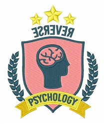 Reverse Psychology embroidery design