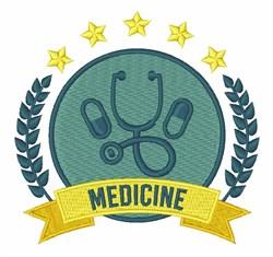 Medicine embroidery design