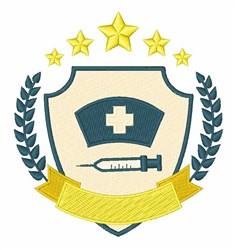 Nurse Logo embroidery design
