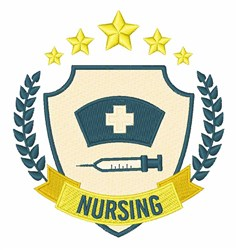 Nursing embroidery design