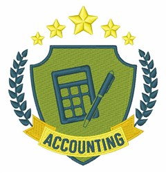 Accounting embroidery design
