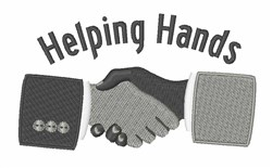 Helping Hands embroidery design