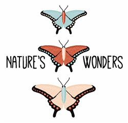 Natures Wonders embroidery design