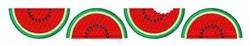 Watermelon Border embroidery design