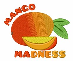 Mango Madness embroidery design