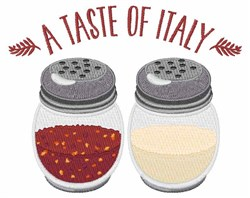 Taste Of Italy embroidery design