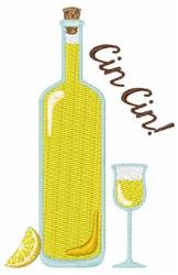 Cin Cin Lemoncello embroidery design