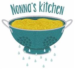 Nonnas Kitchen embroidery design