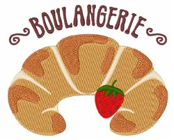 Boulangerie embroidery design