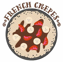 French Crepes embroidery design