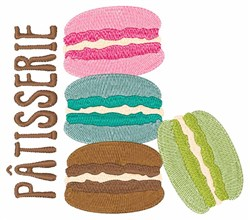 Patisserie embroidery design