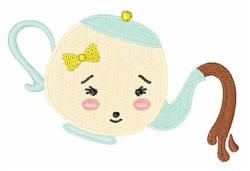 Little Teapot embroidery design