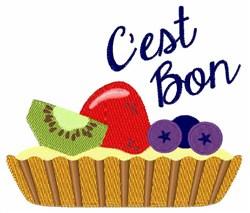 Cest Bon embroidery design