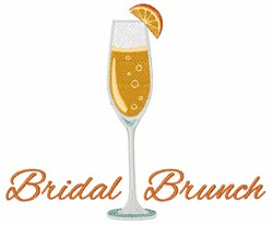 Bridal Brunch embroidery design