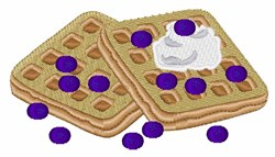 Blueberry Waffles  embroidery design