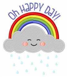 Oh Happy Day embroidery design