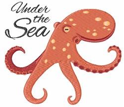 Under The Sea embroidery design