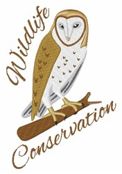 Wildlife Conservation embroidery design