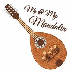 My Mandolin embroidery design