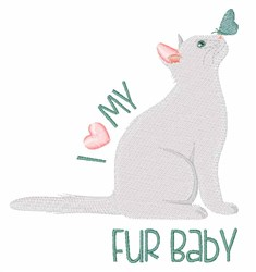 My Fur Baby embroidery design