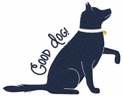Good Dog embroidery design