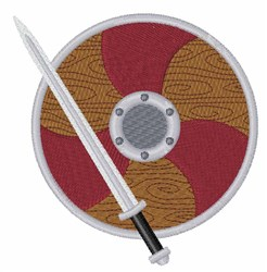Viking Weapons embroidery design