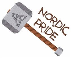 Nordic Pride embroidery design
