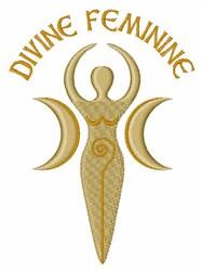 Divine Feminine embroidery design