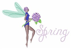 Spring Fairies embroidery design