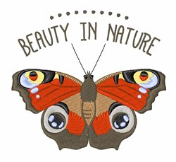 Beauty Nature embroidery design