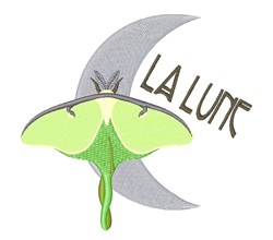 La Lune embroidery design