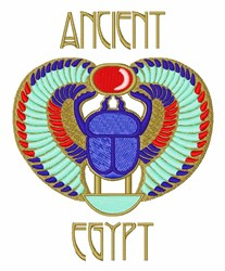 Ancient Egypt embroidery design