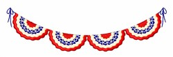 USA Banner embroidery design