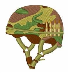 Army Helmet embroidery design