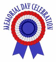 Memorial Day Celebration embroidery design