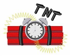 TNT Explosive embroidery design