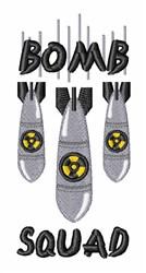 Bomb Squad embroidery design